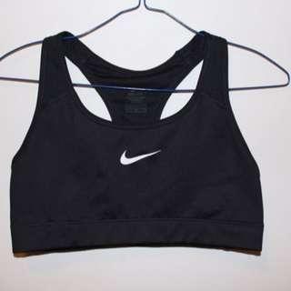 Nike Black Dry Fit Sports Bra