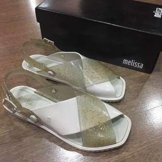 Melissa Beige Sauce Sandal US Size 8