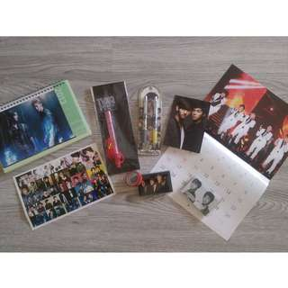 TVXQ & JYJ Unofficial Goods Set