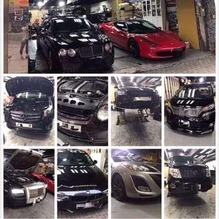 各類歐日私家車維修保養
