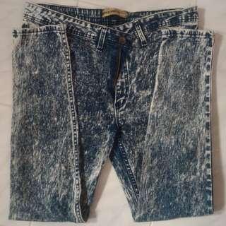 #FreePostage Plussize Blue Acidwash Jeans