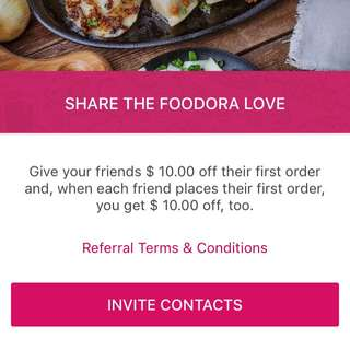 $10OFF FOODORA