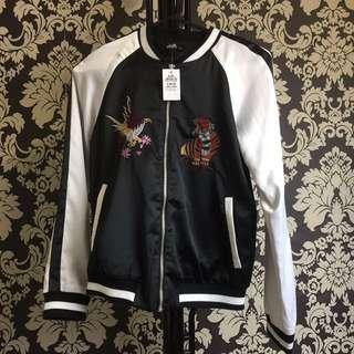 Rrp:$99.95 Dotti embroidery Bomber Jackjet