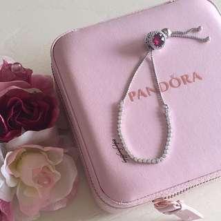 🎁Pandora 粉色手鍊🎀現貨潘朵拉