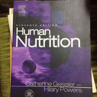 Human Nutrition Eleventh Edition Catherine Geissler