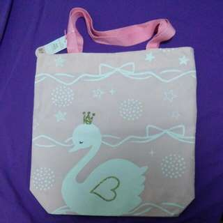 Pink Tote Bag from Young Hearts