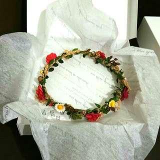 Handmade Flower Headband 004