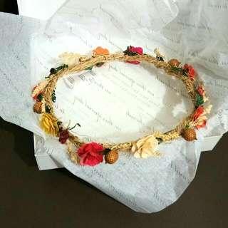 Handmade Flower Headband 006