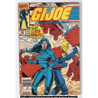 GI Joe A Real American Hero #120 (Marvel) Comic