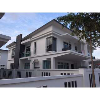 Malaysia Double Storey Semi-Detached House for Sale @ Senibong Villas ( Johor )