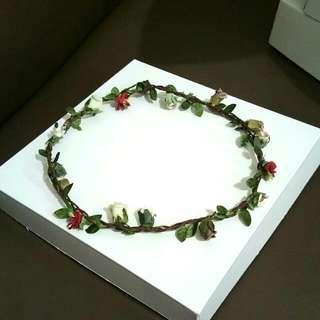 Handmade Flower Headband 008