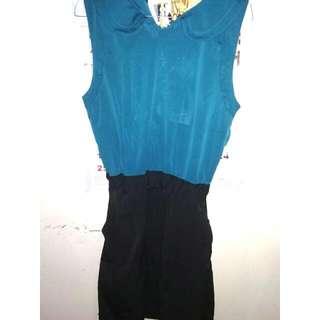 "Dress blue Black ""Gaudi"""