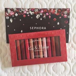 Kiss & Make Up Lip Pencil Set (Sephora)