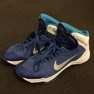 Blue Nike High Tops