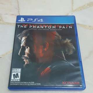 Metal Gear Solid V PS4 R3