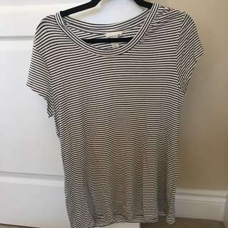 H&M Striped Tshirt