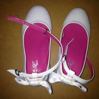 Sugar Kids White Shoes