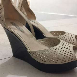 Charles And Keith Wedge- With Box