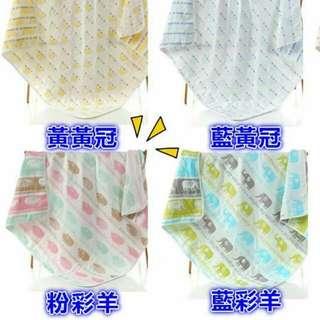六層紗嬰兒寶貝毯.空調被.冷氣房毯