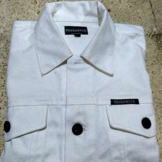 White Canvas Jacket by Roughneck