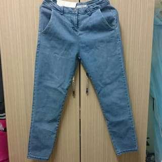 全新牛仔褲M