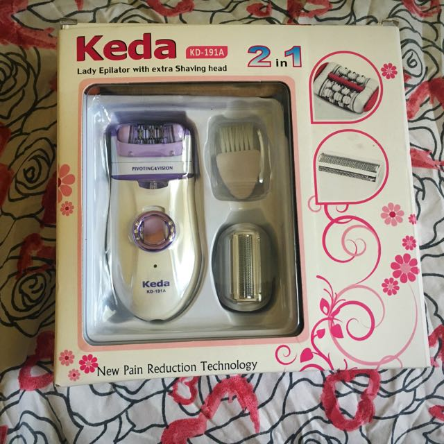 Rechargeable Epilator 2in1 (Keda)