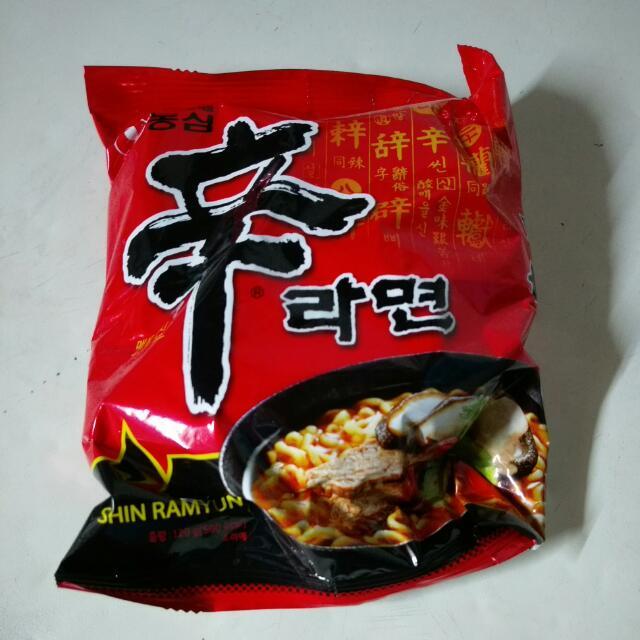 韓國辛辣麵
