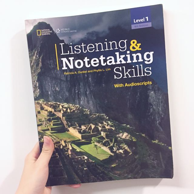 聽力書 外文系用書 Listening And Notetaking Skills
