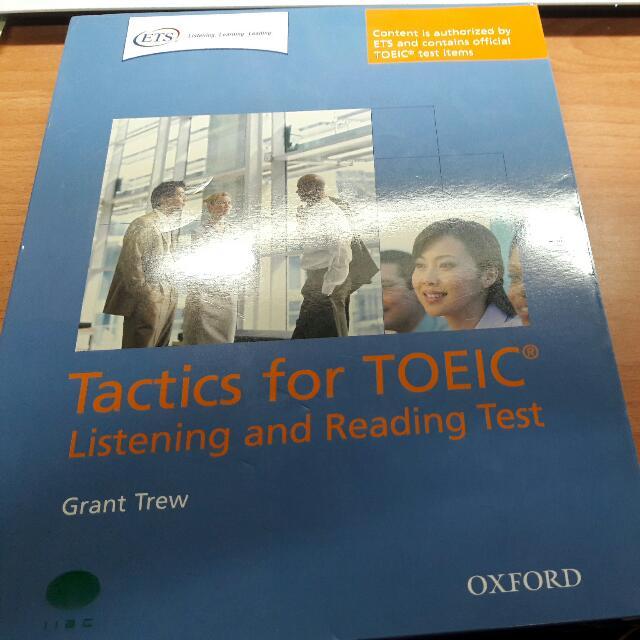 全新 TOEIC 官方考試認證用書 附CD