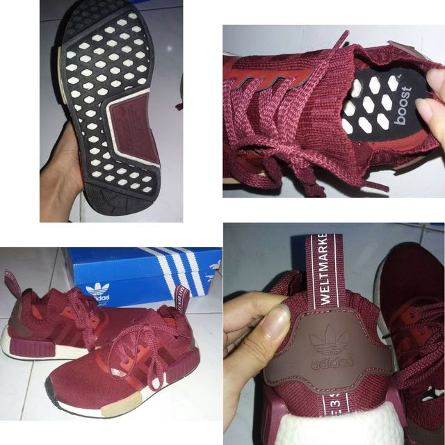 Adidas NMD maroon