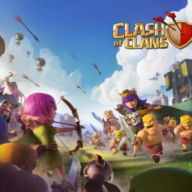 Akun Clash Of Clans