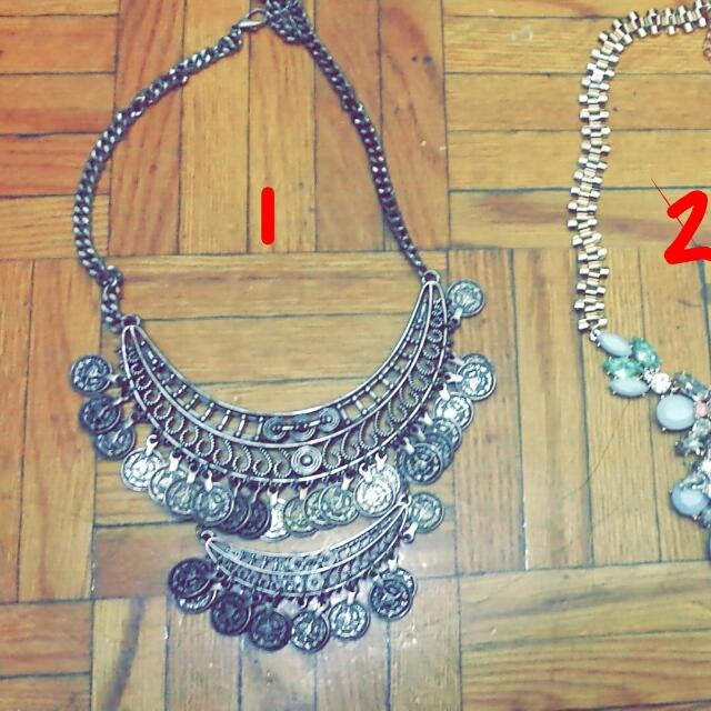 Aldo And Forever21 Necklace All 3 For 12