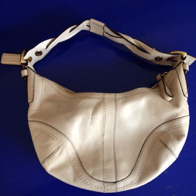 Authentic Coach Soho Leather Hobo Bag Not Kate Spade
