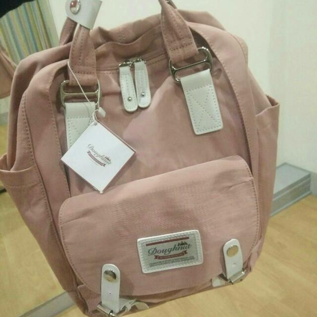 BACKPACK DOUGHNUT DUSTY PINK