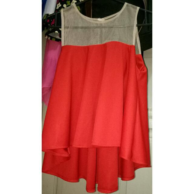 Baju Kutung Merah