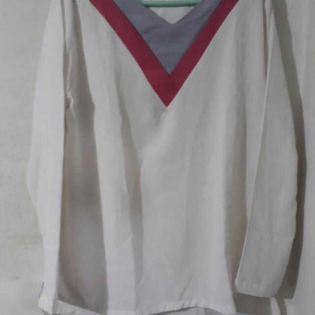 Baju Putih Panjang