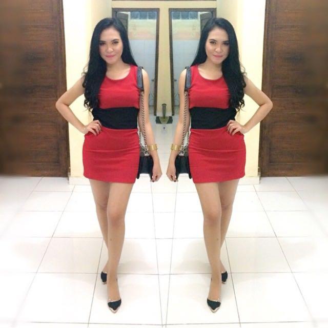 Bodycon Dress (RED)