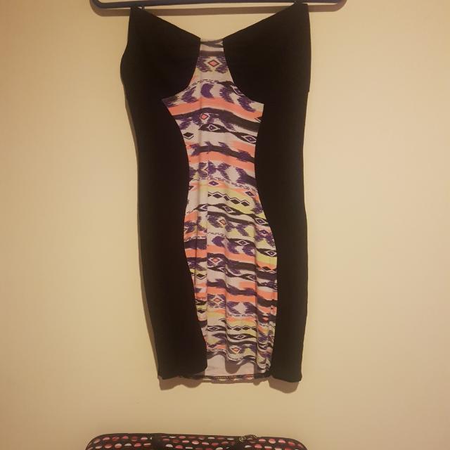 Boohoo Body Con Dress