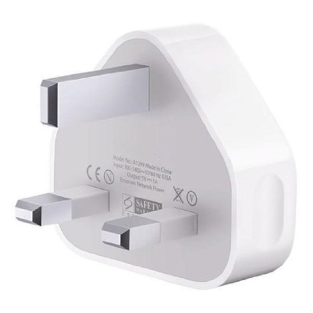 Brand New 3-pin Plug Power Adapter Apple