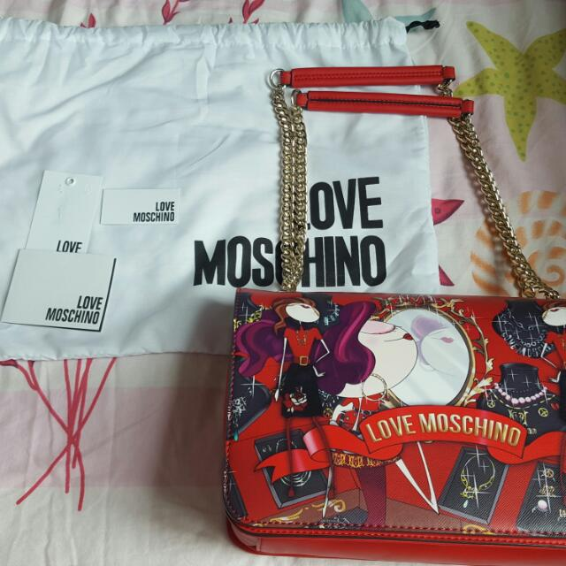Brand New Authentic MOSCHINO Sling Bag
