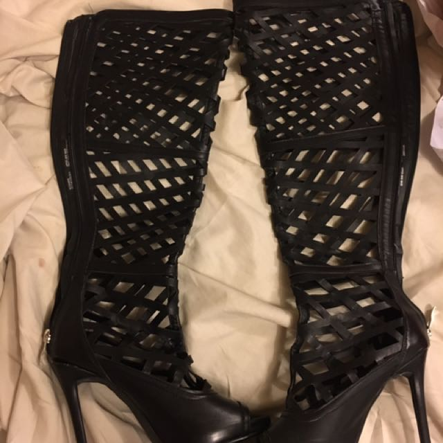 Caged Boots