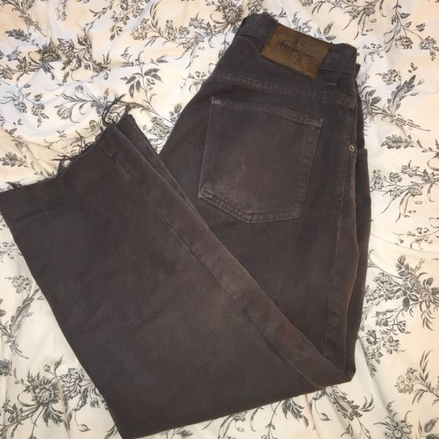 Calvin Klein loose cut vintage jeans