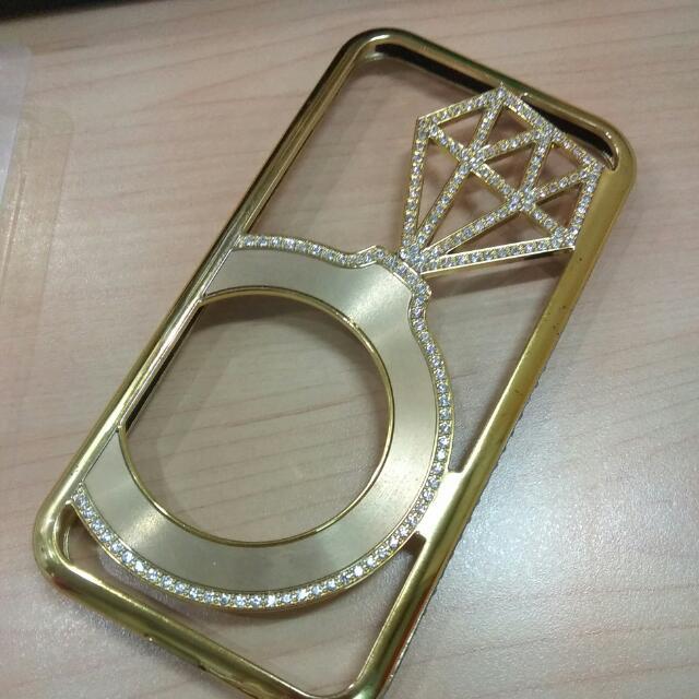 Case Iphone 6 /6s Gold Mewah