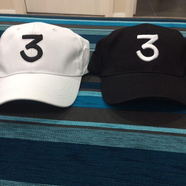Chance The Rapper '3' Hats