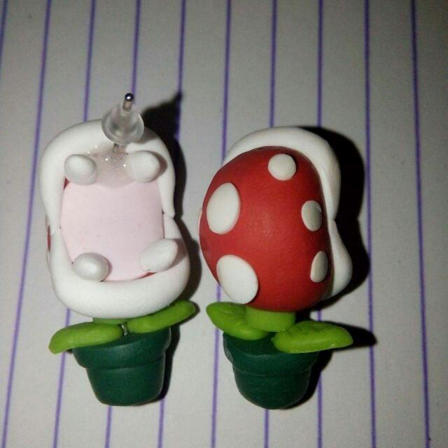 Character Clay Earrings
