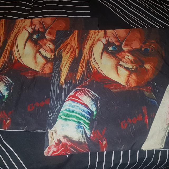 Chucky Cushion Covers x 2