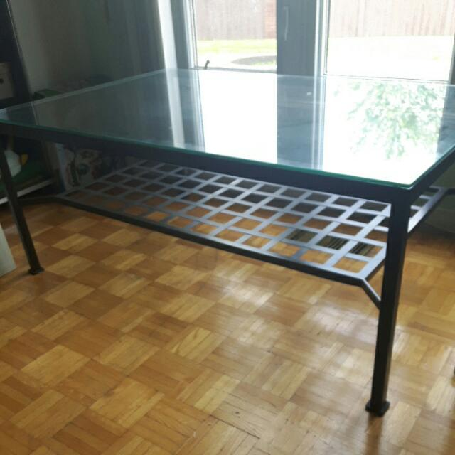 2 Coffee Tables (Big And Small One Together)