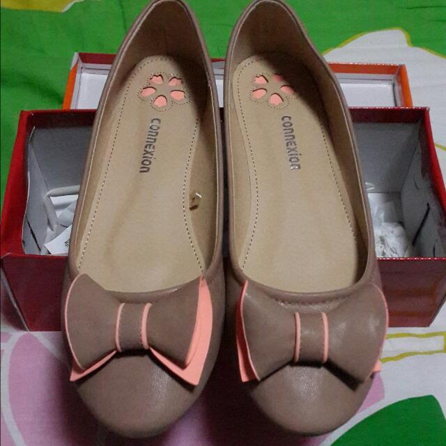 Connexion Khaki Flat Shoes