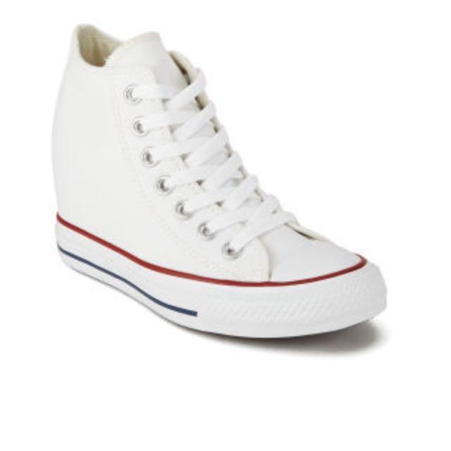 dea311d513b3 Converse White Wedge Sneaker BNIB