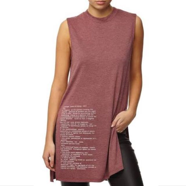 COTTON ON MOCK NECK TUNIC